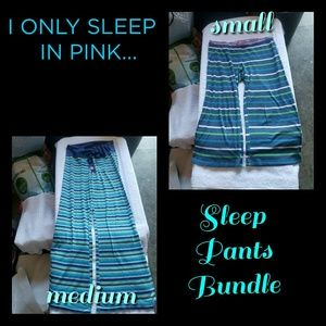 ☆SOLD☆VS I ONLY SLEEP IN PINK PJ BUNDLE